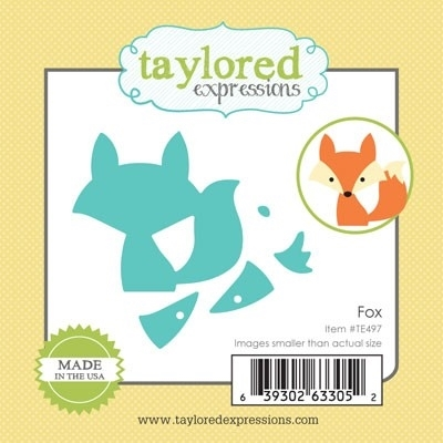 Taylored Expressions Little Bits FOX Die Set TE497 Preview Image
