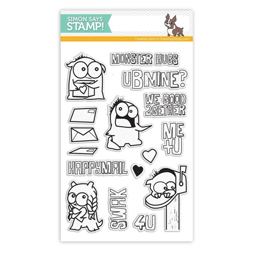 Simon Says Clear Stamps MONSTER HUGS sss101486 Preview Image