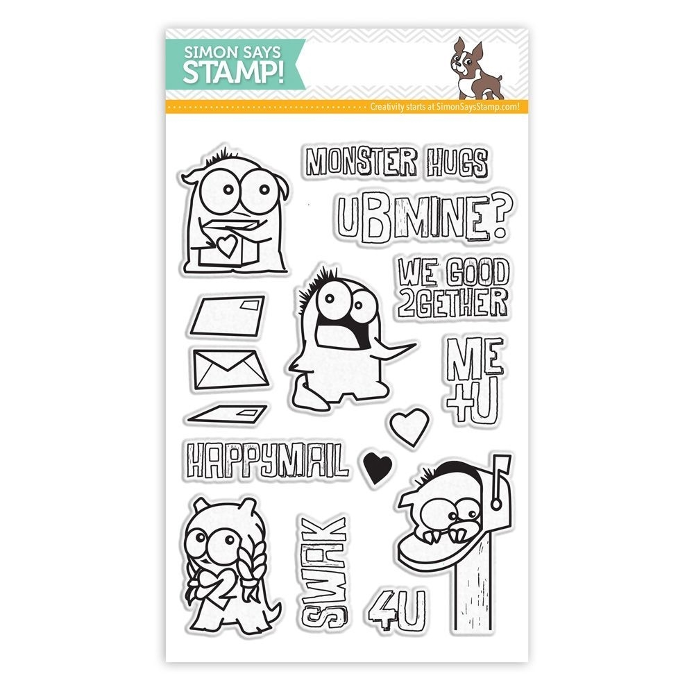 Simon Says Clear Stamps MONSTER HUGS sss101486 zoom image