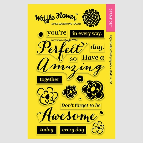 Waffle Flower IN EVERY WAY Clear Stamp Set 271023 zoom image