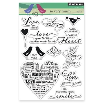 Penny Black Clear Stamps SO VERY MUCH 30-269 zoom image