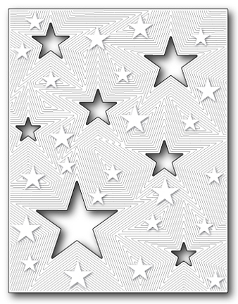 Memory Box ALL STAR DETAIL PLATE Craft Die 99070* Preview Image
