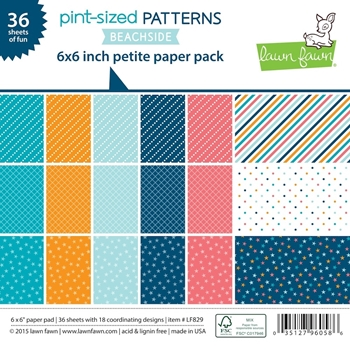 Lawn Fawn Beachside 6x6 Patterned Paper
