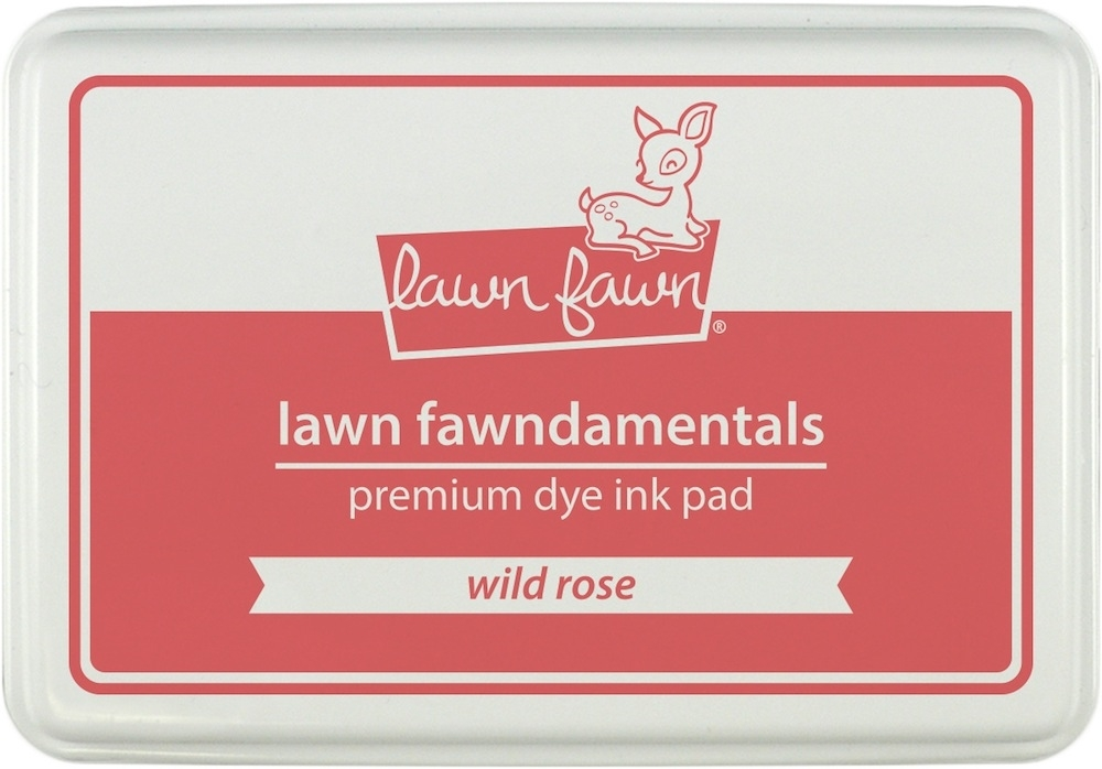 Lawn Fawn WILD ROSE Premium Dye Ink Pad Fawndamentals LF860 zoom image
