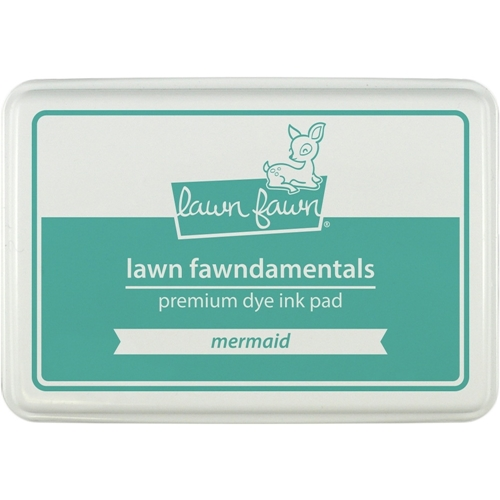 Lawn Fawn MERMAID Premium Dye Ink Pad Fawndamentals LF864 Preview Image