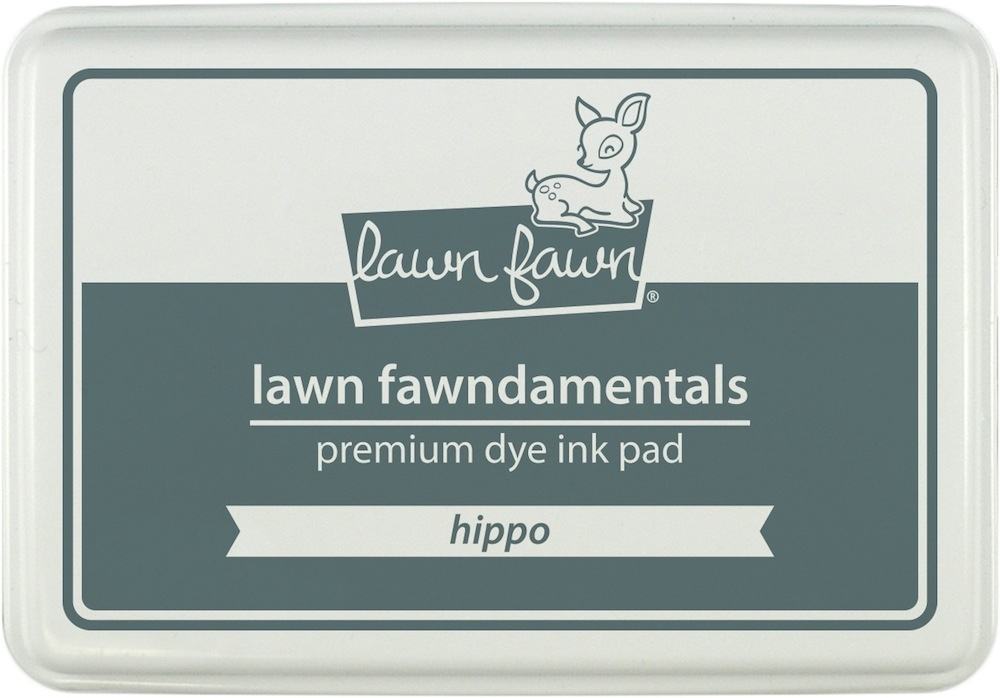 Lawn Fawn HIPPO Premium Dye Ink Pad Fawndamentals LF866 zoom image