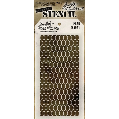 Tim Holtz Layering Stencil  MESH THS041 Preview Image
