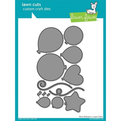 Lawn Fawn PARTY BALLOONS Lawn Cuts Dies LF856 Preview Image