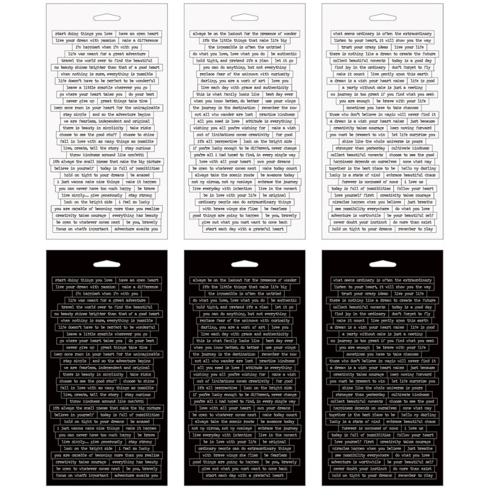 Tim Holtz Idea-ology SMALL TALK Stickers TH93193 zoom image