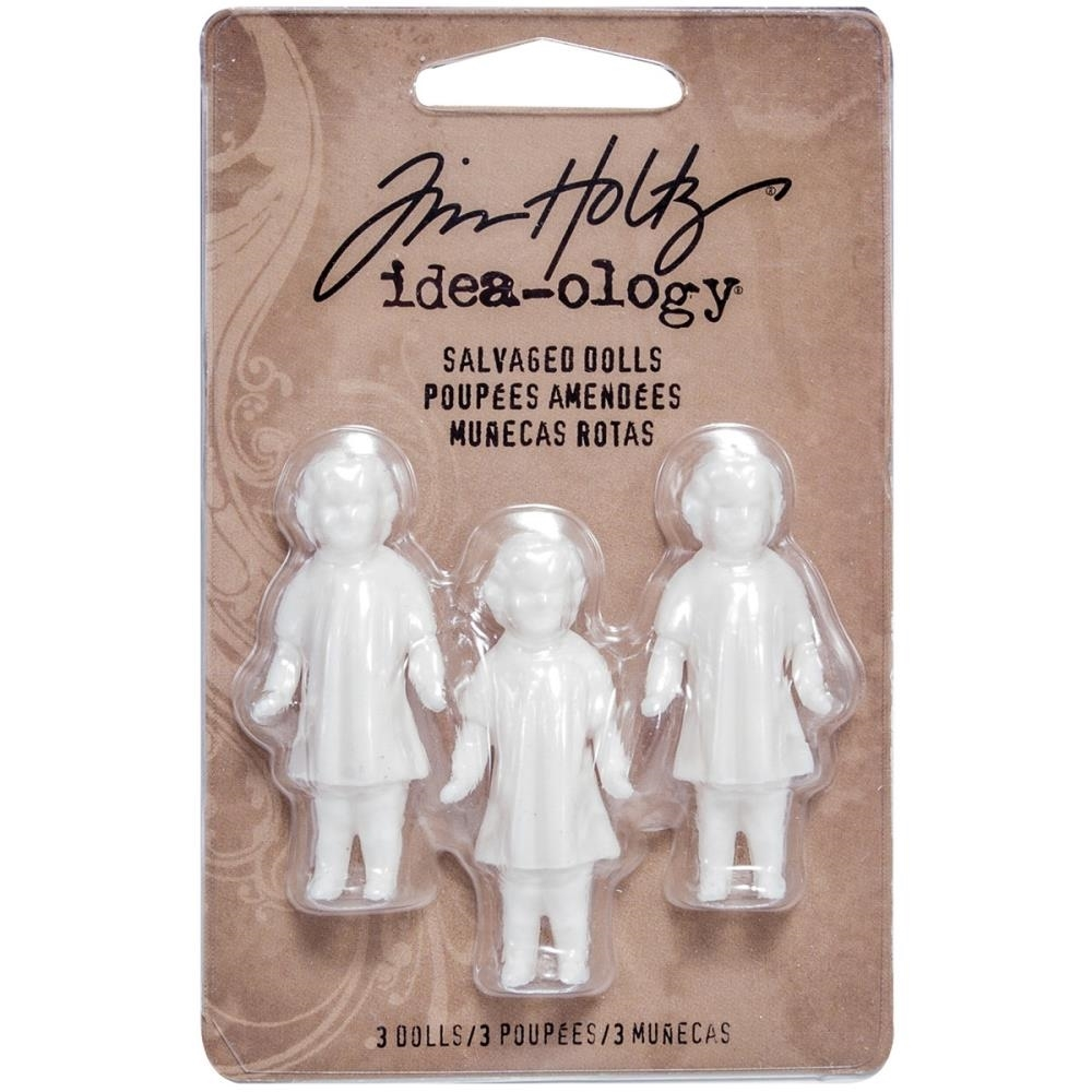 Tim Holtz Idea-ology SALVAGED DOLLS TH93196 zoom image