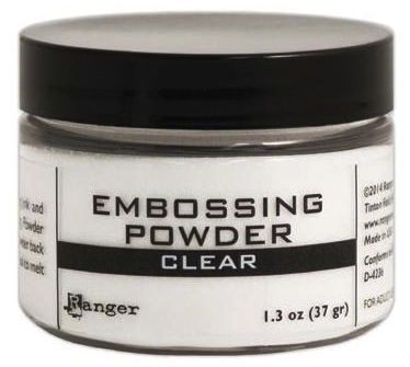 Ranger Embossing Powder CLEAR 1.5 Oz Jar EPL45694 Preview Image