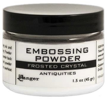 Ranger Embossing Powder FROSTED CRYSTAL 1.5 Oz Jar EPL44963 zoom image