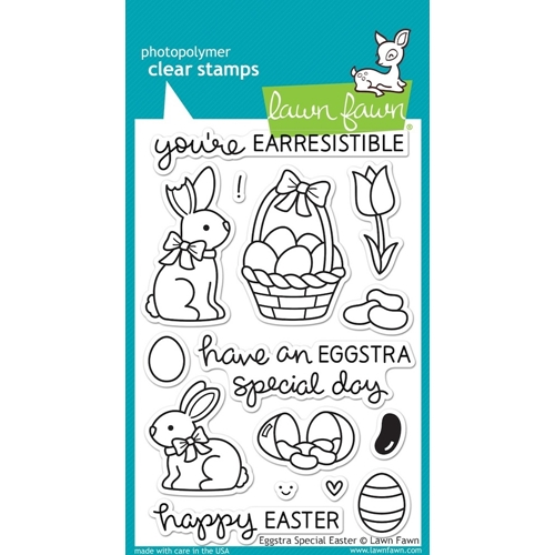 Lawn Fawn EGGSTRA SPECIAL EASTER Clear Stamps LF840 Preview Image