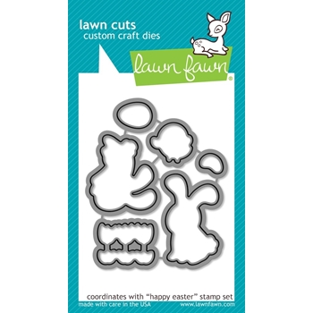 Lawn Fawn HAPPY EASTER Lawn Cuts Dies LF833