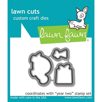 Lawn Fawn YEAR TWO Lawn Cuts Dies LF834