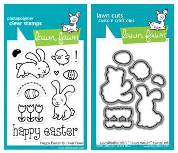 Lawn Fawn SET LF215HE SPRING SPLENDOR Clear Stamps And Dies zoom image
