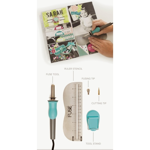 We R Memory Keepers UNITED STATES VOLTAGE PHOTO SLEEVE FUSE Tool 662567 Preview Image