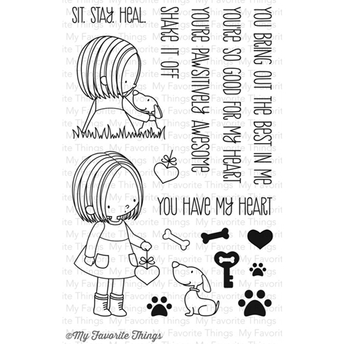 My Favorite Things YOU HAVE MY HEART Clear Stamps BB11 Preview Image