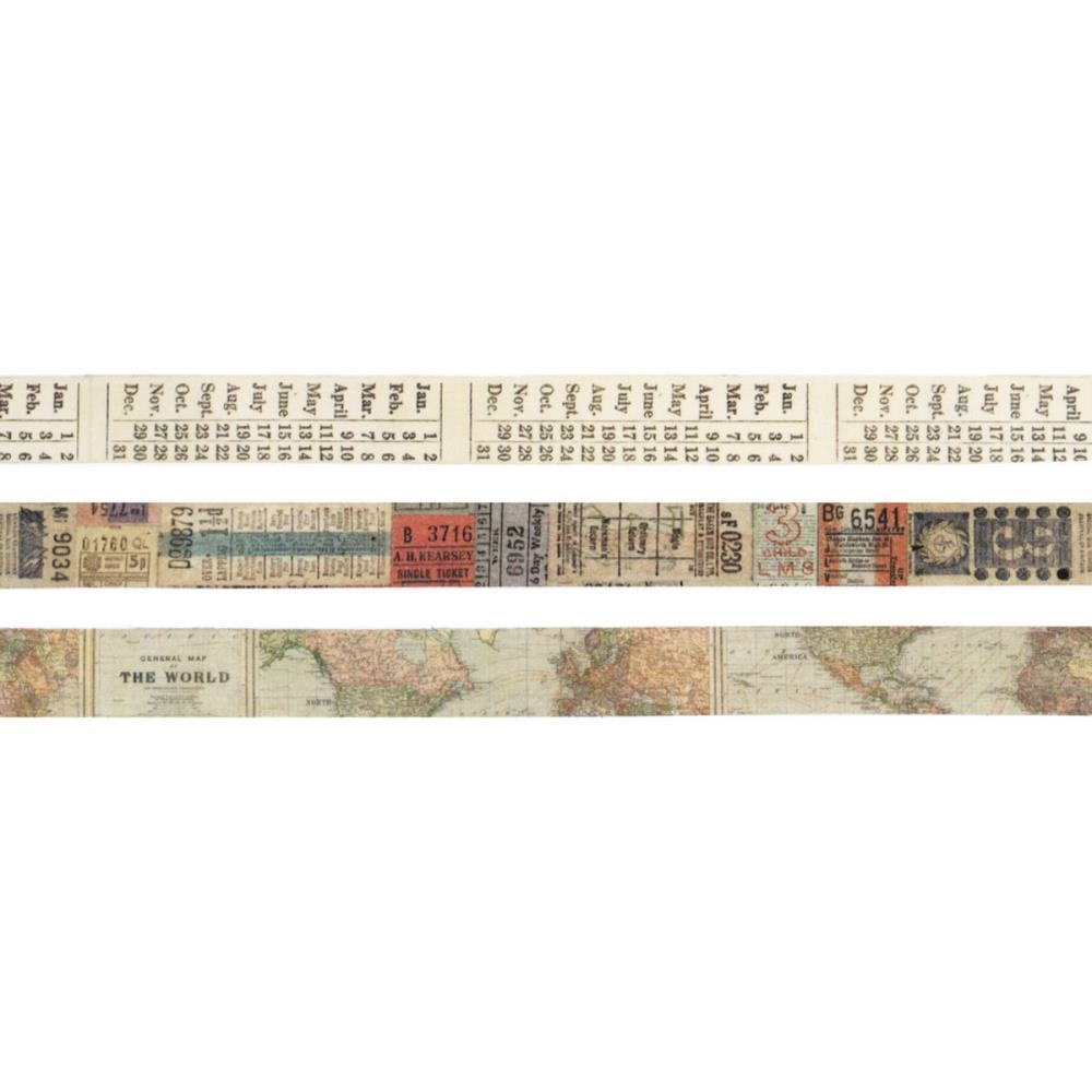 Tim Holtz Idea-ology PASSPORT Design Tape TH93194 zoom image