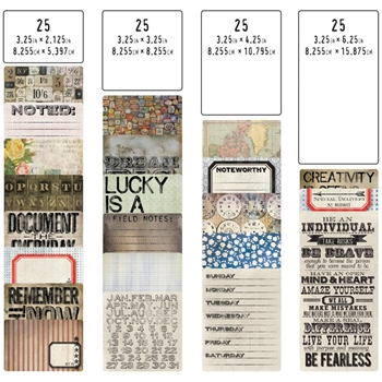 Tim Holtz Idea-ology POCKET CARDS TH93208