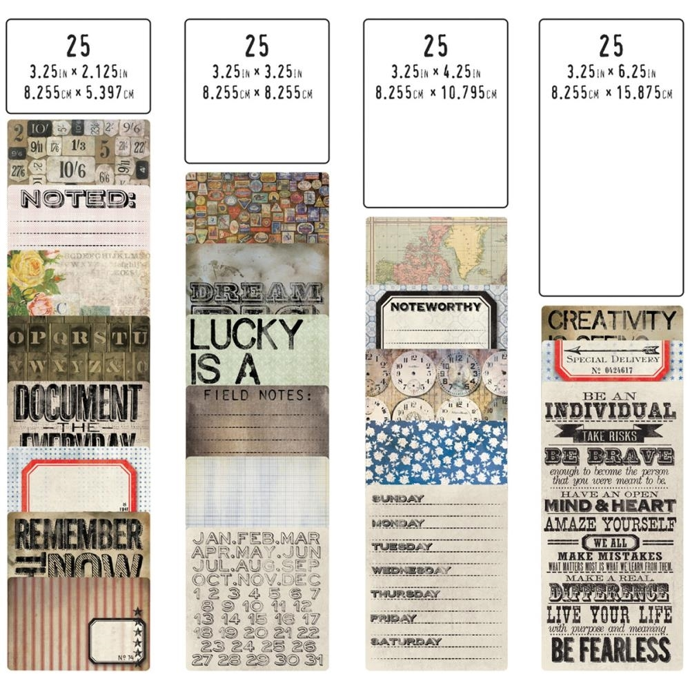 Tim Holtz Idea-ology POCKET CARDS TH93208 zoom image