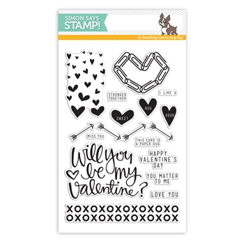 Simon Says Clear Stamps PAPER HUGS sss101500