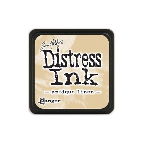 Tim Holtz Distress Mini Ink Pad ANTIQUE LINEN Ranger TDP39846 Preview Image