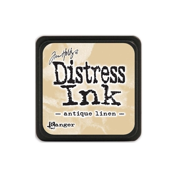 Tim Holtz Distress Mini Ink Pad ANTIQUE LINEN Ranger TDP39846