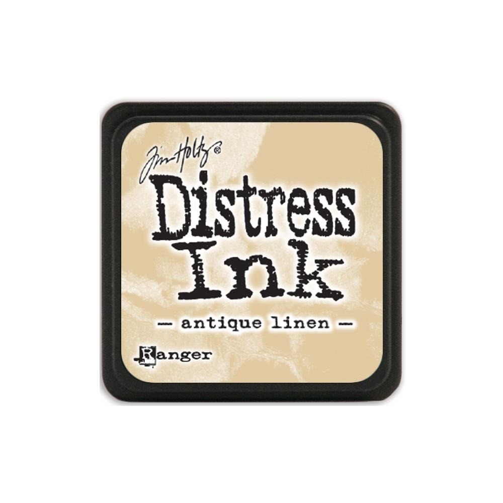Tim Holtz Distress Mini Ink Pad ANTIQUE LINEN Ranger TDP39846 zoom image