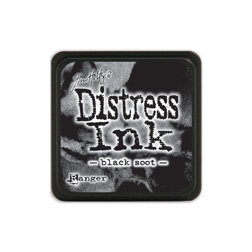 Tim Holtz Distress Mini Ink Pad BLACK SOOT Ranger TDP39860 Preview Image