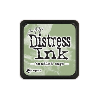 Tim Holtz Distress Mini Ink Pad BUNDLED SAGE Ranger TDP39891
