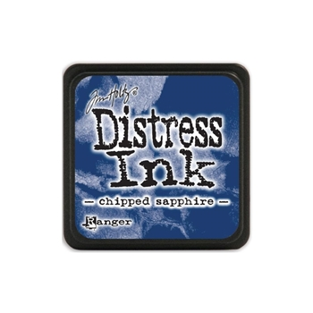 Tim Holtz Distress Mini Ink Pad CHIPPED SAPPHIRE Ranger TDP39907