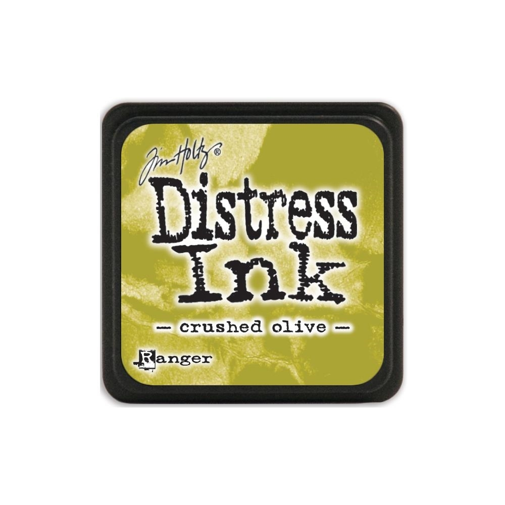 Tim Holtz Distress Mini Ink Pad CRUSHED OLIVE Ranger TDP39914 zoom image