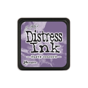 Distress Mini Cube - Dusty Concord