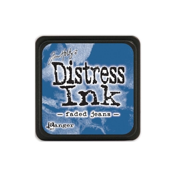 Tim Holtz Distress Mini Ink Pad FADED JEANS Ranger TDP39952