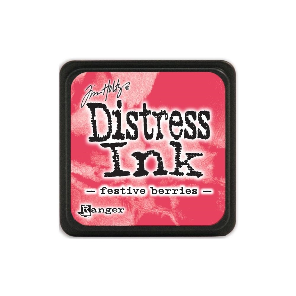 Tim Holtz Distress Mini Ink Pad FESTIVE BERRIES Ranger