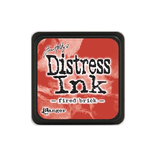 Tim Holtz Distress Mini Ink Pad FIRED BRICK