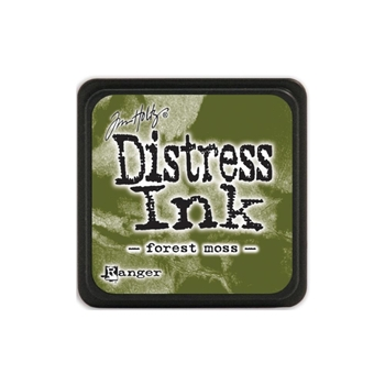 Tim Holtz Distress Mini Ink Pad FOREST MOSS Ranger TDP39983