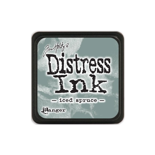 Tim Holtz Distress Mini Ink Pad ICED SPRUCE Ranger TDP40019 Preview Image