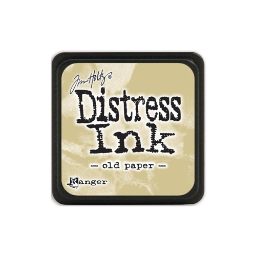 Tim Holtz Distress Mini Ink Pad OLD PAPER Ranger TDP40057 Preview Image