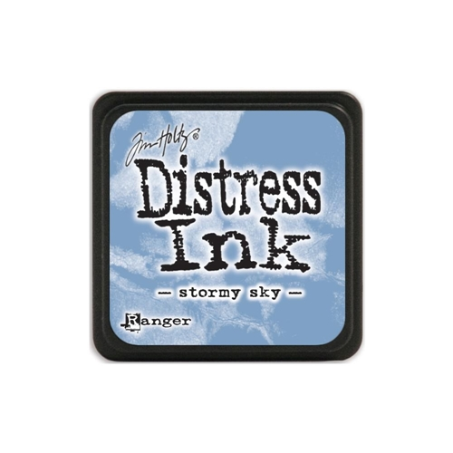 Tim Holtz Distress Mini Ink Pad STORMY SKY Ranger TDP40217 Preview Image