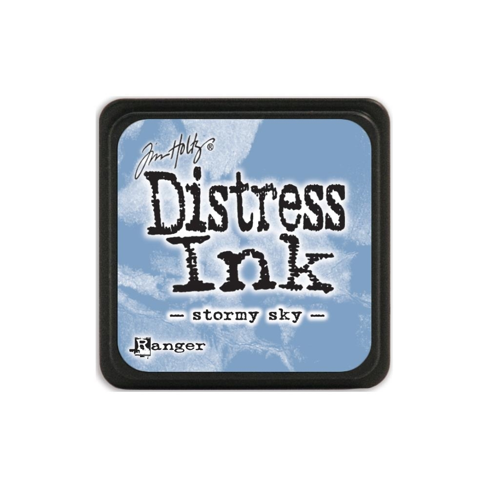 Tim Holtz Distress Mini Ink Pad STORMY SKY Ranger TDP40217 zoom image