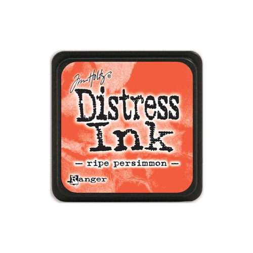Tim Holtz Distress Mini Ink Pad RIPE PERSIMMON Ranger TDP40118
