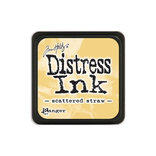 Tim Holtz Distress Mini Ink Pad SCATTERED STRAW Ranger