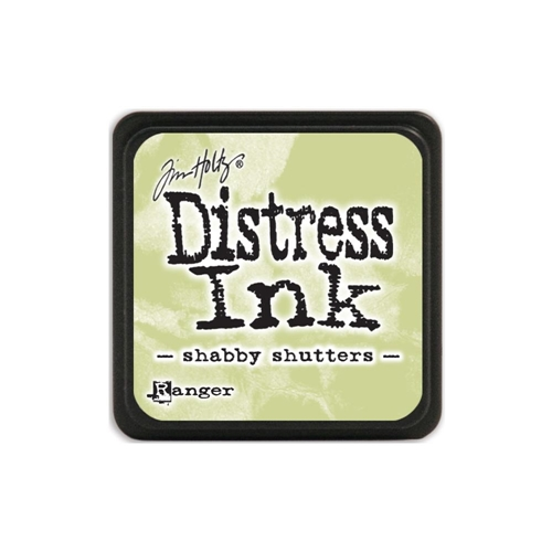 Tim Holtz Distress Mini Ink Pad SHABBY SHUTTERS Ranger TDP40163 Preview Image