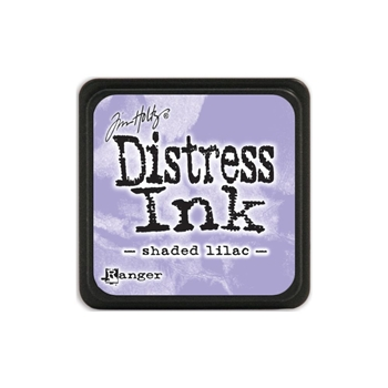 Tim Holtz Distress Mini Ink Pad SHADED LILAC Ranger TDP40170