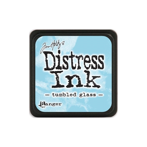 Distress mini cube - Tumbled Glass