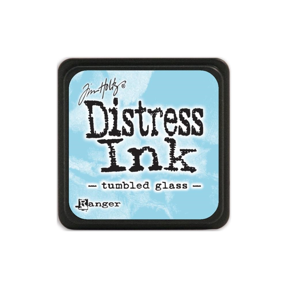 Tim Holtz Distress Mini Ink Pad TUMBLED GLASS Ranger TDP40248 zoom image