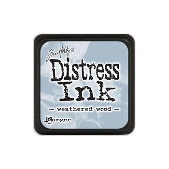 Tim Holtz Distress Mini Ink Pad WEATHERED WOOD Ranger TDP40286