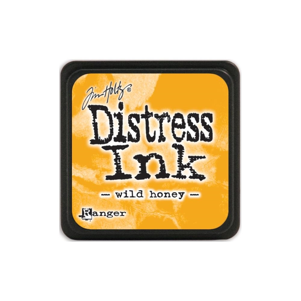 Tim Holtz Distress Mini Ink Pad WILD HONEY Ranger